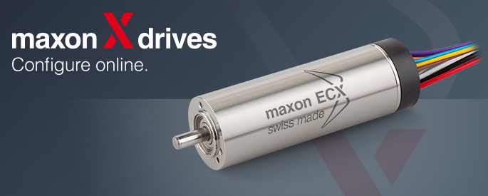 maxon ECX SPEED Programm